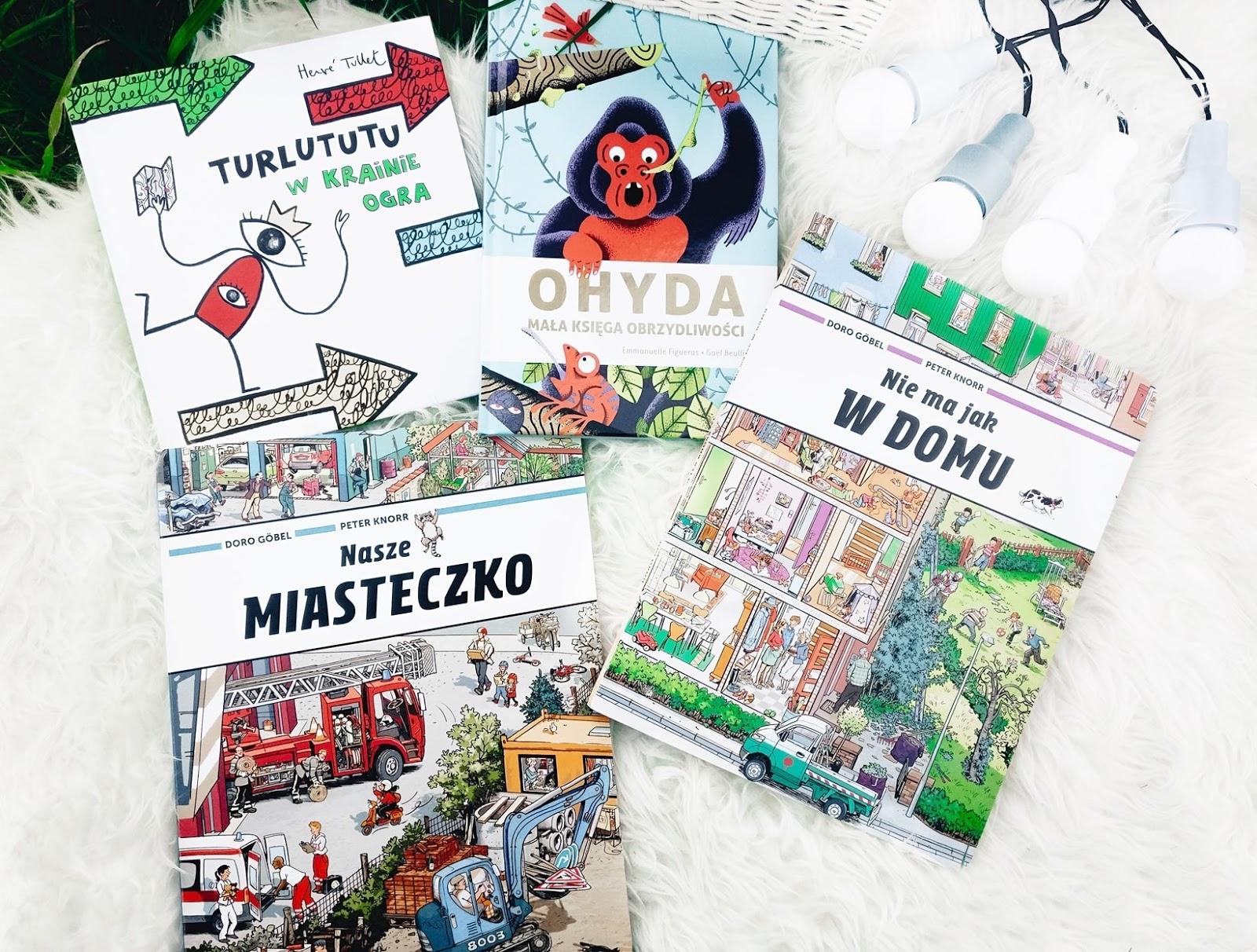 Książki dla dzieci – Turlututu, księga obrzydliwości i inne