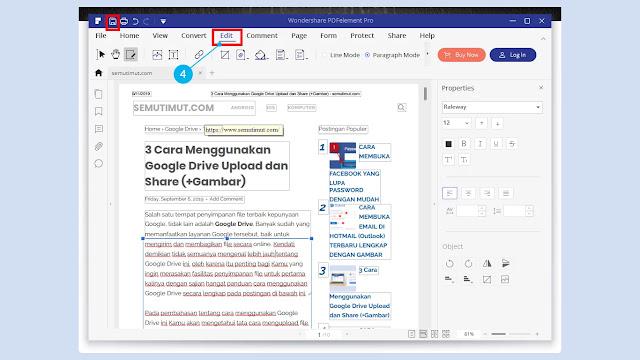 cara edit file pdf dengan mudah
