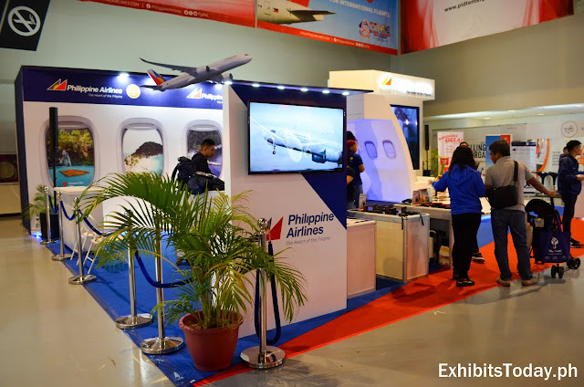 Philippine Airlines exhibition booth