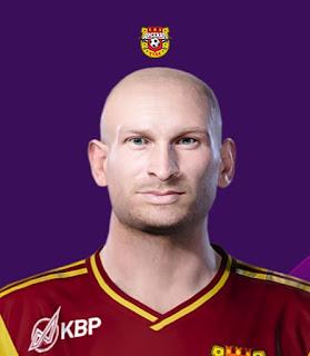 PES 2020 Faces Kantemir Berkhamov by Korneev