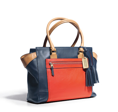 Coach Legacy Colourblock Leather Candace Carryall