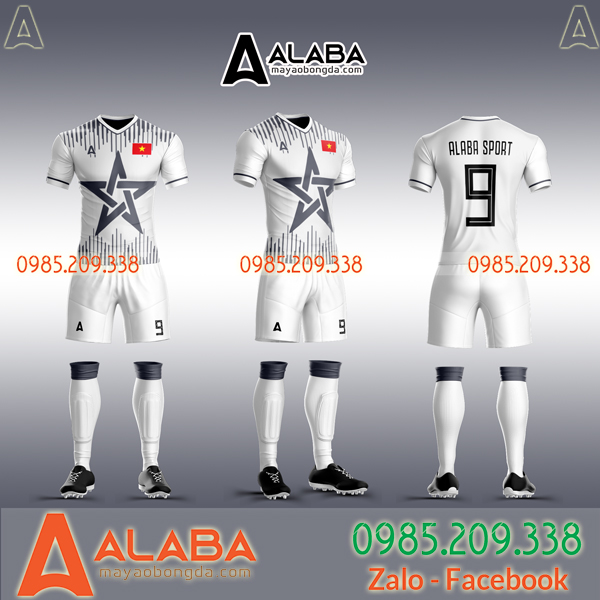 Áo đội tuyển Việt Nam tự thiết kế đẹp mắt