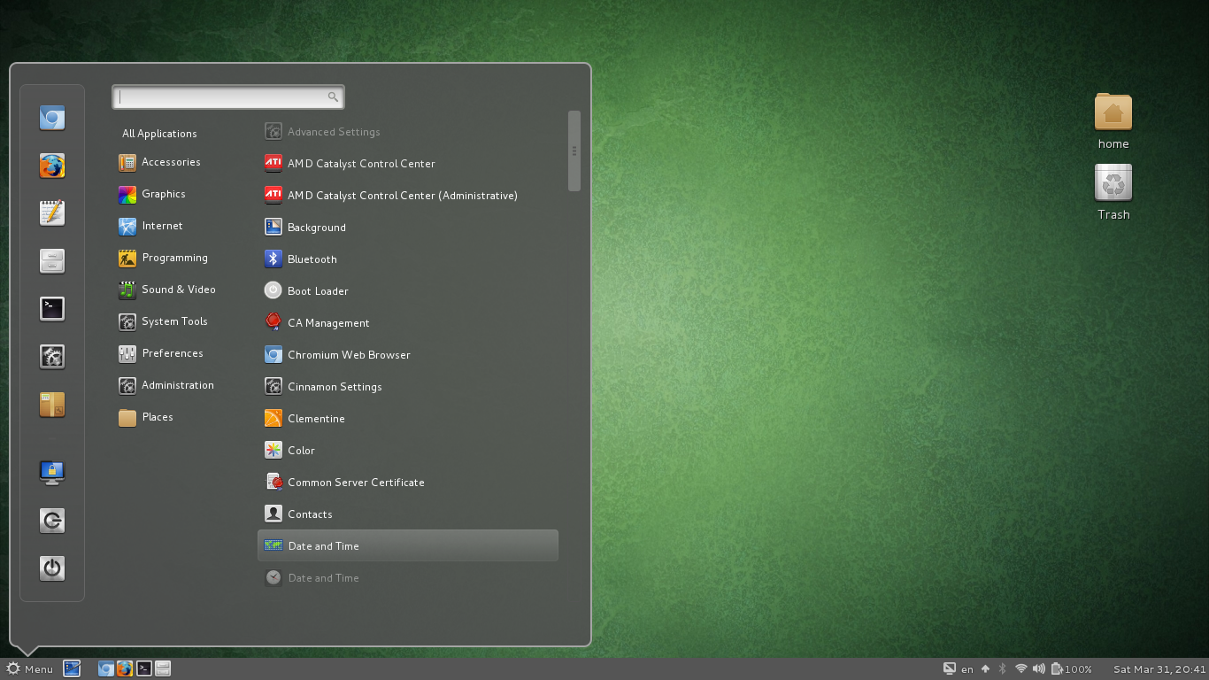 Stable Archlinux: How to install Gnome Cinnamon in OpenSuse