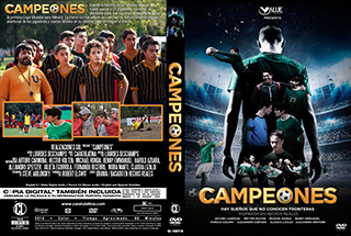 Campeones - Cover DVD
