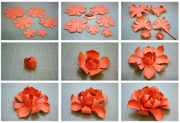 Make an Easy Origami Rose | 410x600