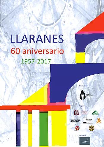 Cartel del 60 aniversario de Llaranes