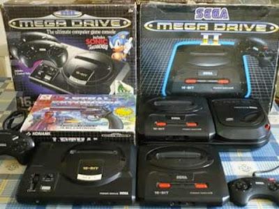 Il SEGA Mega Drive 1 e 2