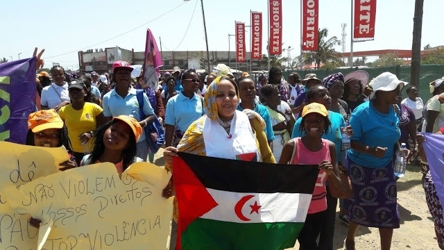 World Women March initiative for solidarity with Saharawi women