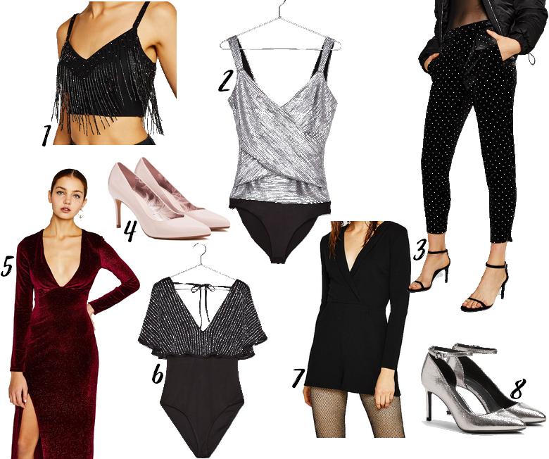 sélection vêtements et accessoires bershka