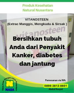 VITANOSTEEN (Extrac Manggis, Mengkudu & Sirsak )  20 Sachet