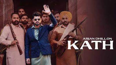 Arjan Dhillon Kath Song Lyrics In English