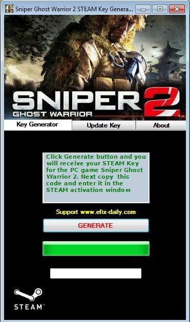 Sniper Ghost Warrior 2 Serial Key