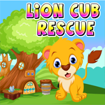 Games4king Lion Cub Rescue