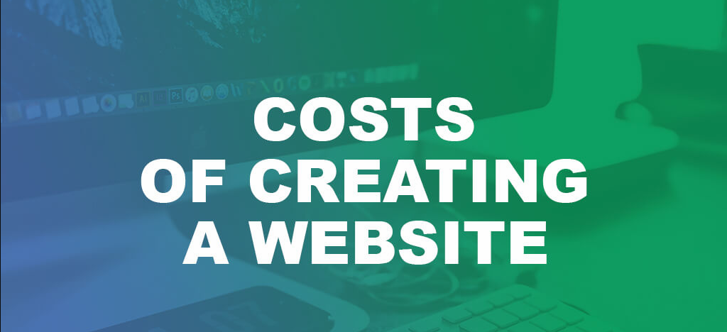How much is the cost of creating a website?