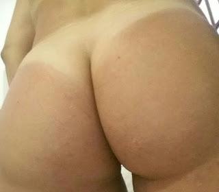Amélia Casada mostrando seu belo corpo enxuto e acabou parando na web
