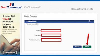 First Command Bank Bill Payment