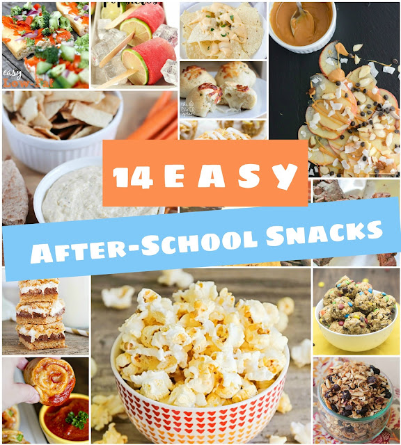 14 easy after-school snacks your kids will love!