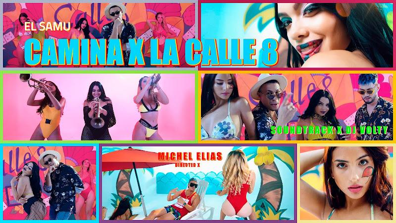 El Samu - ¨Camina por la Calle 8¨ - Videoclip - Director: Michel Elias. Portal Del Vídeo Clip Cubano. Música cubana. Reguetón. CUBA.