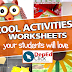COOL WORKSHEETS AND ACTIVITIES for your STUDENTS