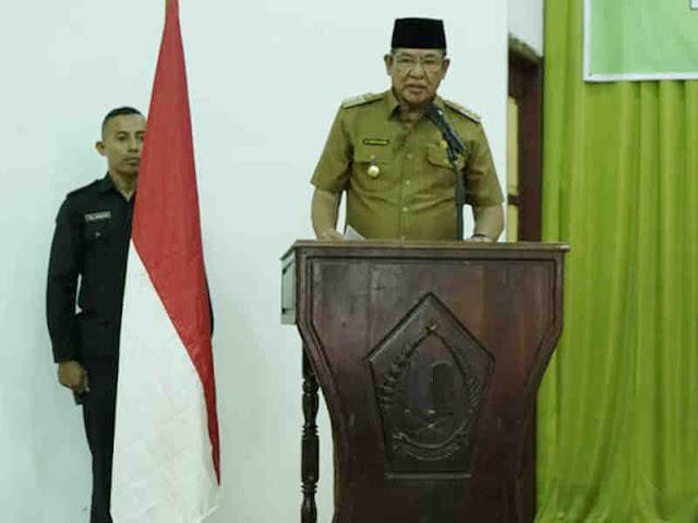 Thaher Hanubun Terima Kafilah MTQ Kabupaten Maluku Tenggara ke-XXVIII