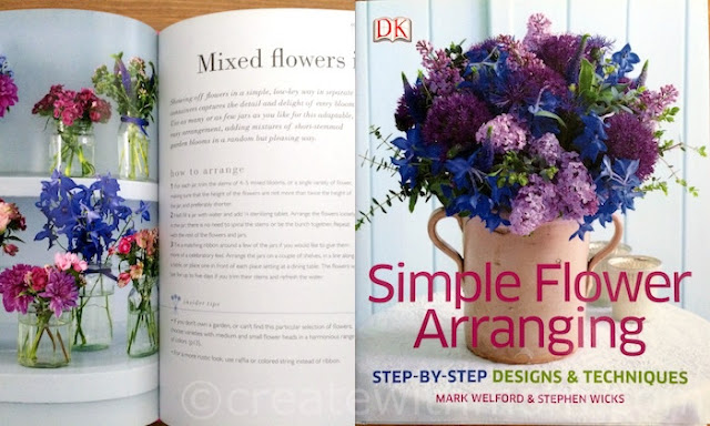 simple flower arranging dk book