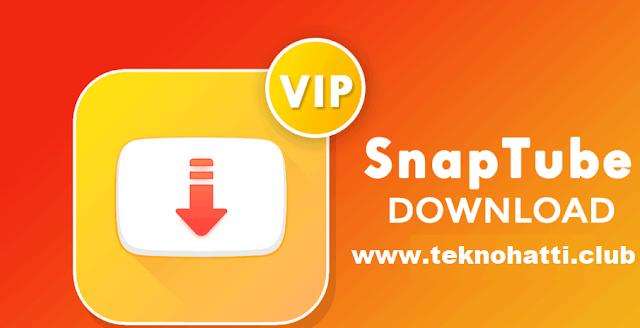 SnapTube VIP Premium Apk indir - 2020