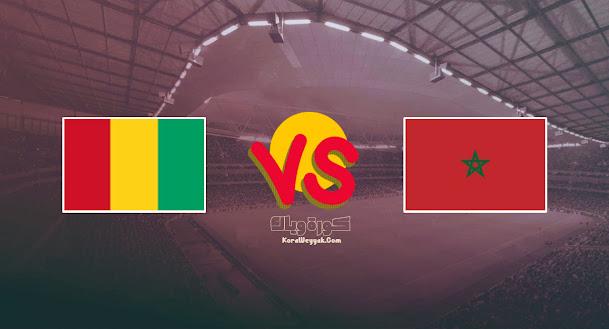 تم تأجيل مباراة غينيا والمغرب اليوم 6 سبتمبر 2021 في تصفيات أفريقيا المؤهلة لكأس العالم 2022