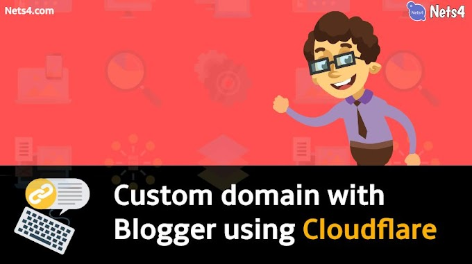 How to setup custom domain for Blogger using Cloudflare?