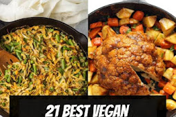 21 Vegan Thanksgiving Recipes that everyone will love! #veganthanksgiving #veganrecipes #thanksgiving