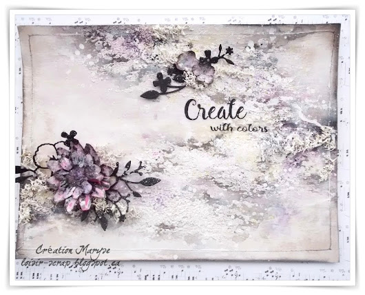 Art journal - Create with colors