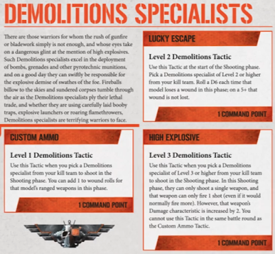 Especialista Demoliciones Kill Team