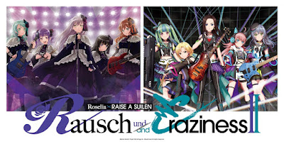 Roselia × RAISE A SUILEN LIVE -Rausch und/and Craziness- II 2021 [WEB-DL / RAW]