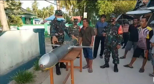 Drone Mata-Mata Kapal Selam Tiongkok Ditemukan Di Perairan Lautan Indonesia