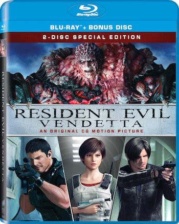 Resident Evil Vendetta 2017 Dual Audio Hindi BluRay 720p Movie Download bolly4ufree.in