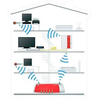 para tener una buena cobertura de nuestra red wifi debemos colocar el módem en un lugar central para que las ondas wifi lleguen a toda nuestra casa