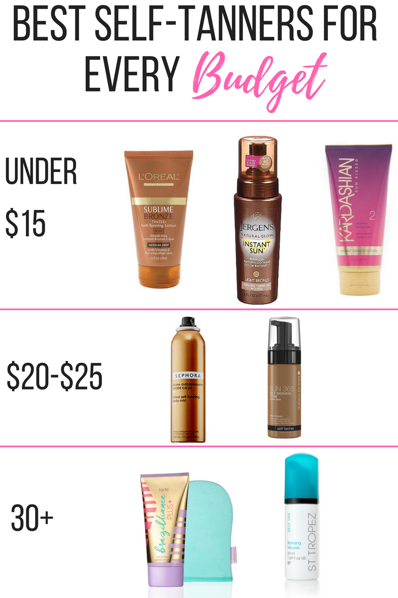 Best Self-Tanners For Every Budget  818040299d64