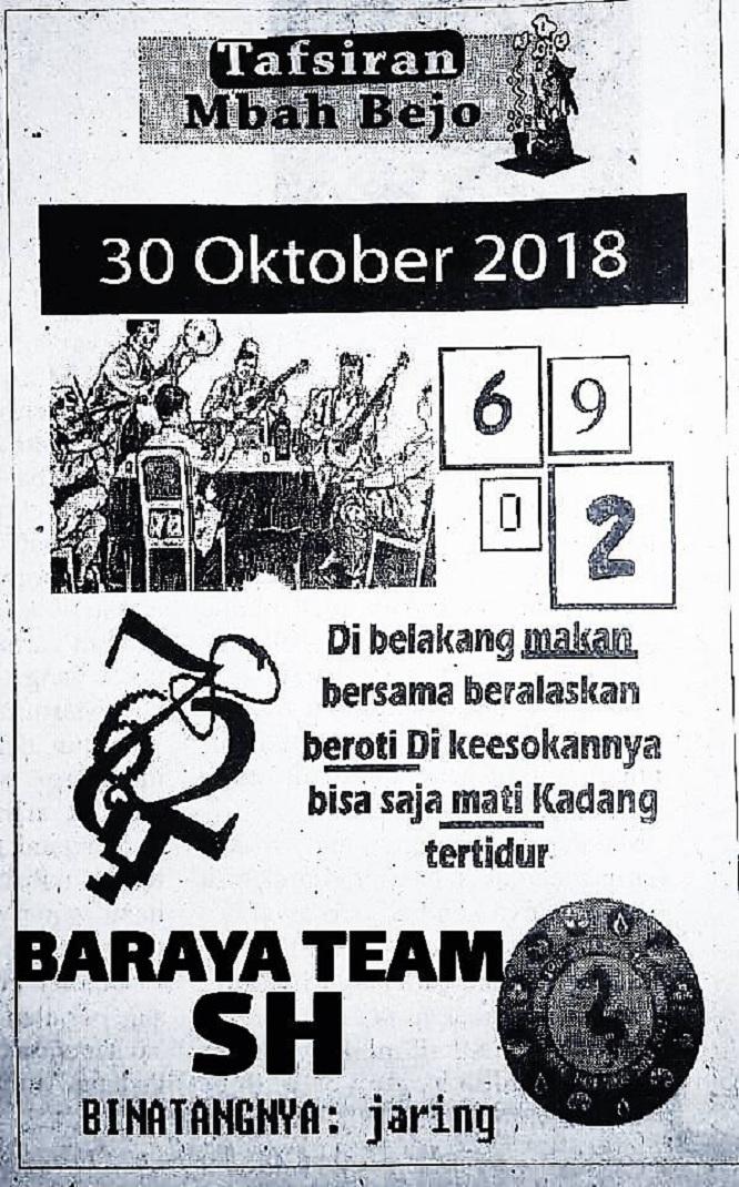 Togel Syair Hk Selasa 30 Oktober 2018 Gosyair Sedia Kode Syair Sgp Ada Kode Syair Hk