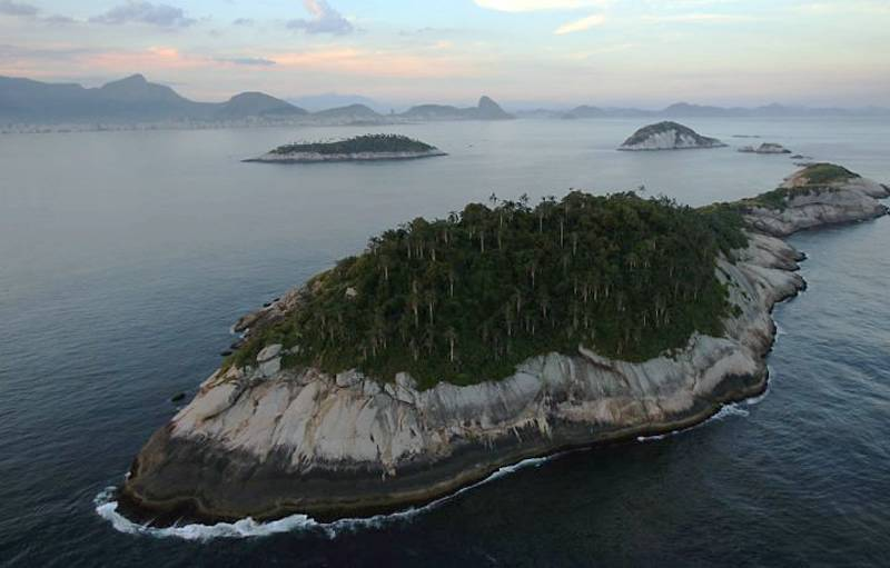 Необитаемые острова архипелага Кагаррас