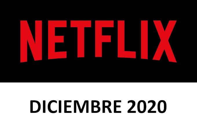 Novedades y Estrenos de Netflix España Diciembre 2020