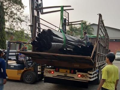 Sewa truk fuso Malang Lampung