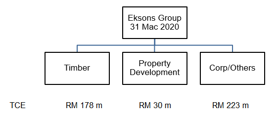 Eksons Total Capital Employed 2020