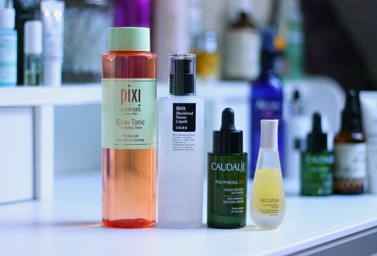 pixi glow tonic cosrx blackhead liquid power caudalie polyphenol serum decleor neroli oil recenzija