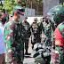 Dandim 0709/Kebumen Bagikan 162 Paket Sembako Bagi Warga Terdampak Covid-19