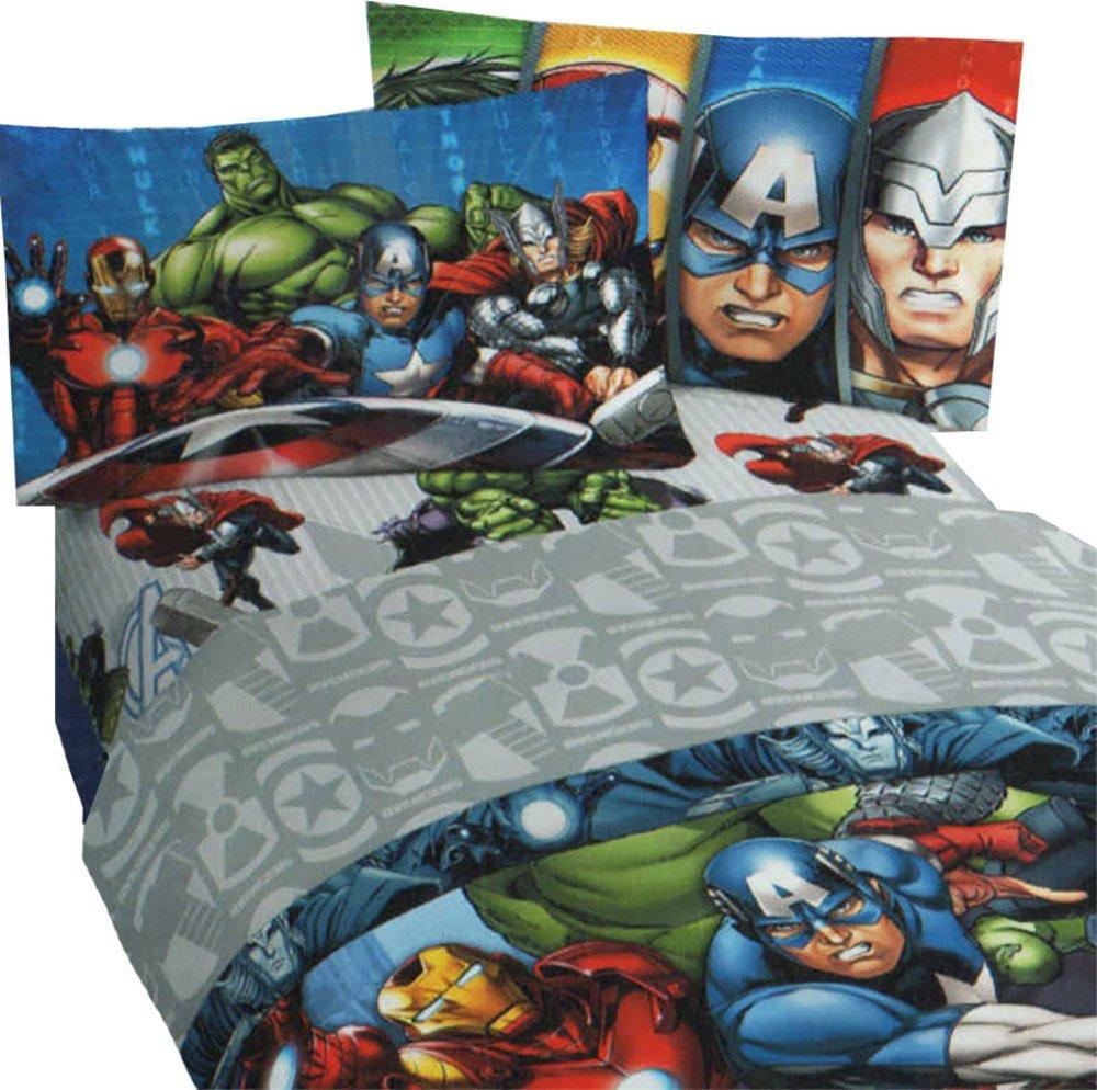 DC & Marvel Comic Superhero Rugs & Bedroom Ideas