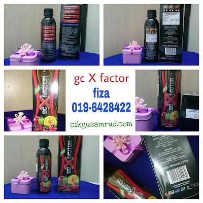 GC X Factor promosi
