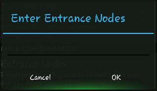 Enter Entrance Nodes