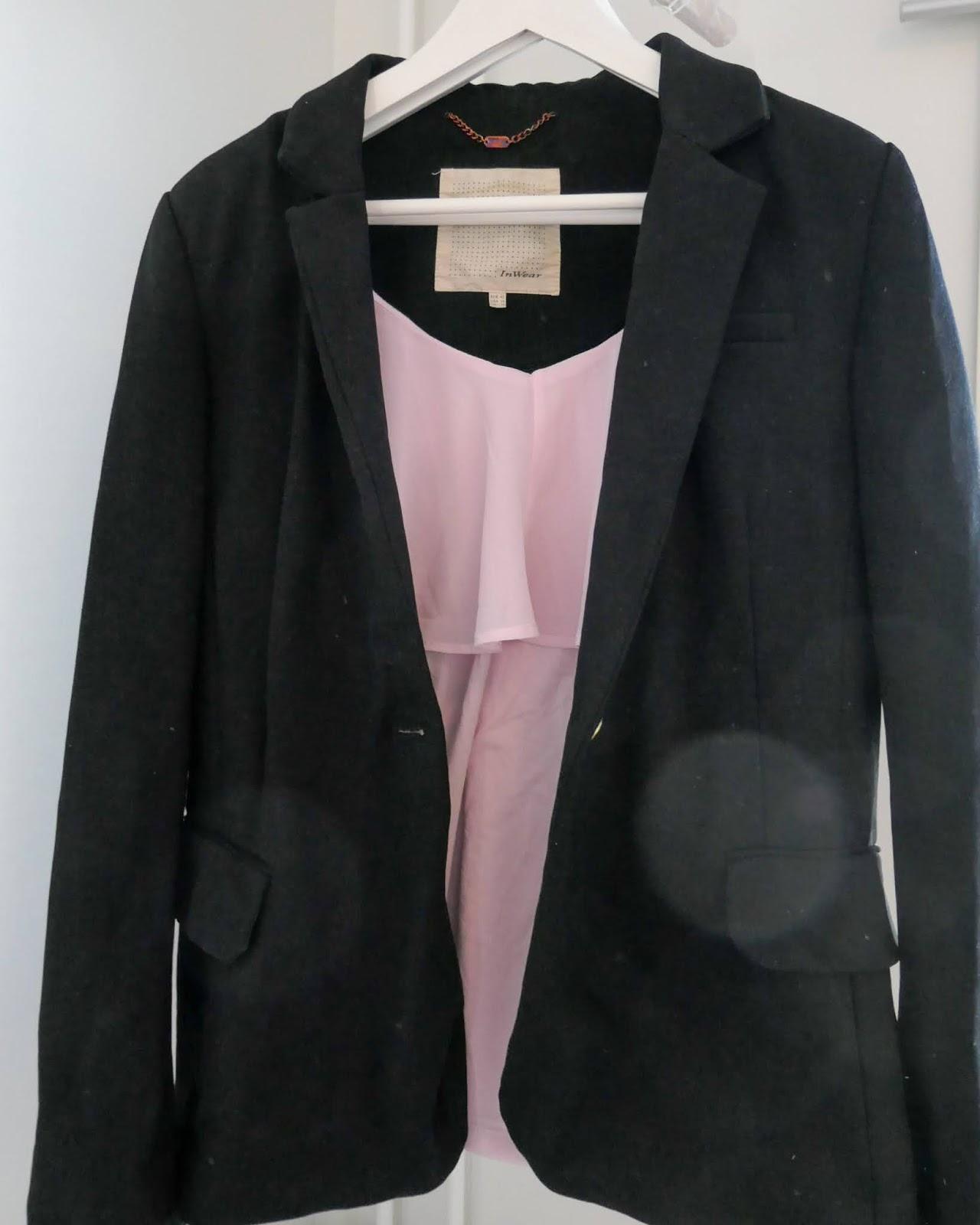 Musta InWear jakku