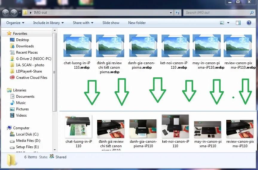 Hiển thị thumbnail webp windows 7 windows 10
