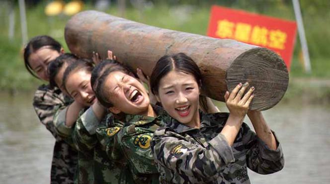 Pendidikan Pramugari Ala Militer Ternyata Berat