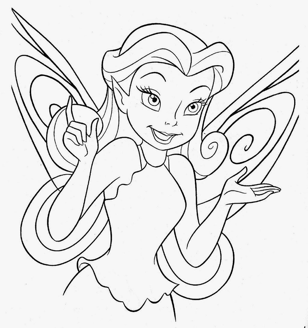 - Disney Fairies Coloring Pages - Disney Coloring Pages